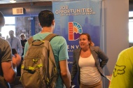 A scene from the CCP June 8 Denver-Auraria Career Fair.